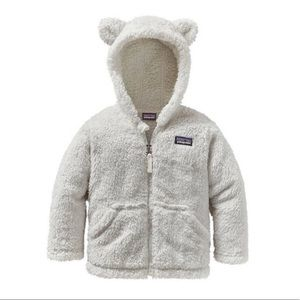 PATAGONIA NEW Furry Friends Hoodie Baby Jacket